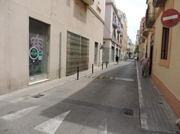 Les obres al següent tram del carrer de Miguel de Cervantes començaran dilluns 29 de juny