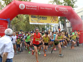 La quarta edició de la Milla catalana serà el proper 11 de setembre