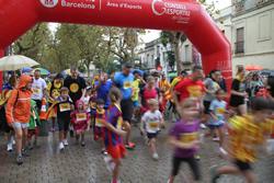 11 de setembre de 2013, sortida de la Milla Catalana