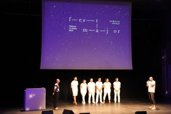 La presentació de la Festa Major dissabte va omplir d'estels l'Auditori Eduard Toldrà