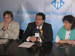 Joan Ignasi Elena, Tomàs Álvaro i Iolanda Sánchez