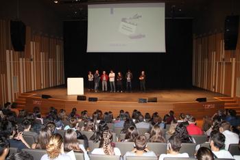 La gala del projecte Re@cciona es va fer a l'auditori Eduard Toldrà
