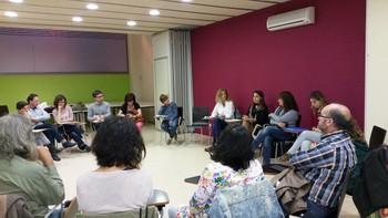 Una de les sessions participatives que es van fer a la tardor