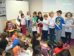 Els representants de cada escola han treballat a classe l'exposició del seu projecte d'Agenda 21