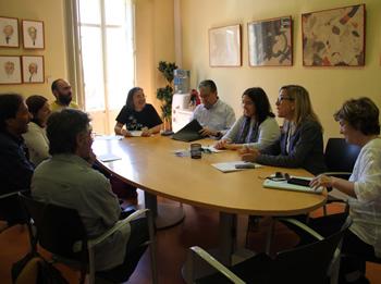 La reunió s'ha celebrat a l'Ajuntament