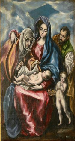 La Sagrada Familia, d'El Greco