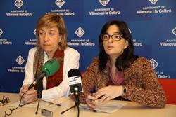 L'alcaldessa, Neus Lloveras i la regidora, Ariadna Llorens, han explicat els canvis a l'IMET