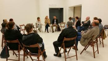 La trobada, a l'auditori Eduard Toldrà
