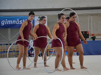 La competició de gimnàstica es farà al Pavelló Municipal de Les Casernes