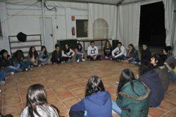 Els joves han fet aquest cap de setmana formació intensiva en una casa de colònies
