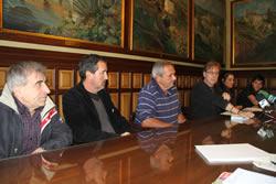 Tomàs Álvaro ha presentat el festival avui, acompanyat de representants del sector de la pesca i la restauració