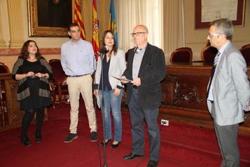 La campnaya s'ha presentat al Saló de Plens de l'Ajuntament