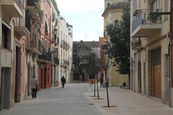 En cap carrer del Nucli Antic s'arriba als 2.000 vehicles diaris, el màxim permès en una zona pacificada