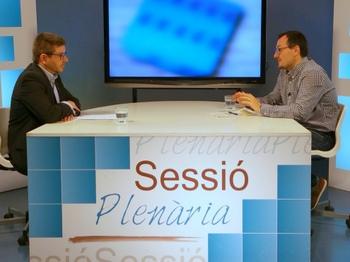 El programa Sessió Plenària s'emet els dilluns a Canal Blau