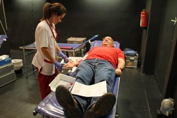Un any més , la Marató ha contribuït a augmentar els baixos índexs de sang existents a la Marató