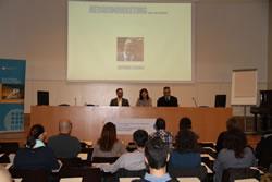La conferència, inclosa en la programació del CUM, va omplir la sala d'actes de l'EPSEVG
