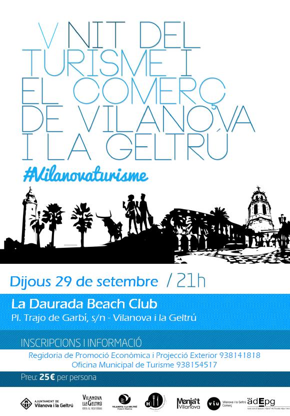 Nit del Turisme i el Comerç, el 29 de setembre