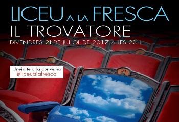 La sessió d'Òpera a la fresca del Liceu serà el 21 de juliol