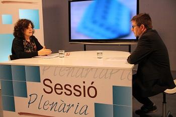Teresa Llorens al Sessió Plenària