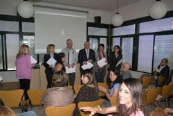 L'acte de cloenda dels cursos del programa de qualificació professional es va fer al Molí de Mar