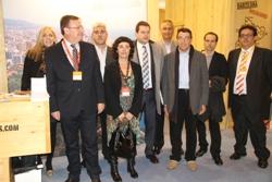 Delegació vilanovina a FITUR 2013