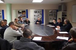 La reunió es va fer a la seu del Gremi de Constructors