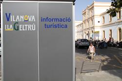 El punt d'informació està a la plaça d'Eduard Maristany