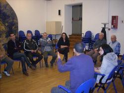 Participants en el darrer taller de llengua i entorn