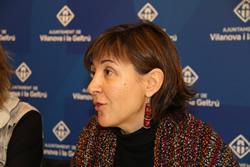 La regidora Glòria Garcia ha explicat aquest matí la novetat del servei
