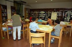 Sala Infantil, Biblioteca Joan Oliva