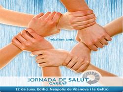 Cartell de la I Jornada de Salut del Garraf