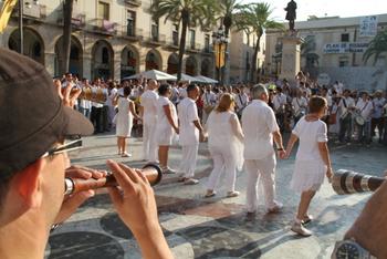 Les 7 persones que formen la pabordia tenen la responsabilitat d'organitzar la Festa Major