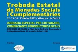 La trobada reunirà 50 persones amb experiència en diversos models de moneda social