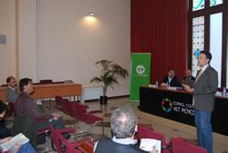 La jornada sobre fibra òptica es va celebrar al Consell Comarcal de l'Àlt Penedès
