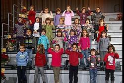 Els nens i nenes de P-5 de l'escola El Cim
