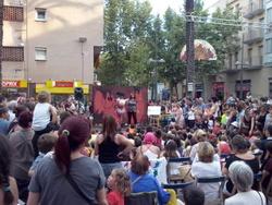 L'hora del conte va sortir al carrer per Festa Major