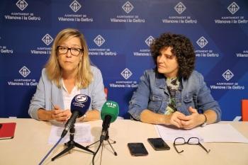 Neus Lloveras i Teresa Llorens