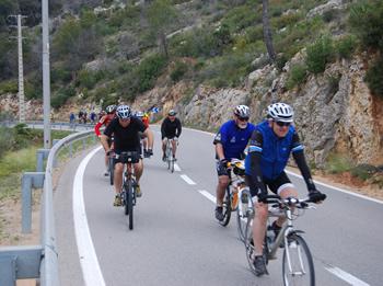 Pedalada cicloturística Pantà de Foix