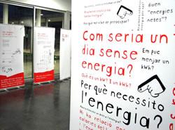 Plafons de l'exposició 'ExpoKw', a l'EPSEVG