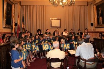 Presentació de la moció sobre l'Escola Ginesta