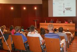 Els alumnes van presentar a l'auditori el seu prototip