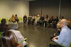 La trobada es va fer al Centre Cívic La Sardana