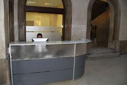 Nou servei de recepció a l'Ajuntament de VNG