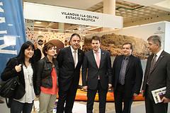 Obertura de l'estand de Vilanova i la Geltrú a ExpoBages