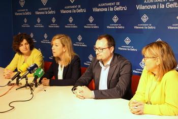 Teresa Llorens, Juan Luís Ruiz, Neus Lloveras i Glòria Garcia