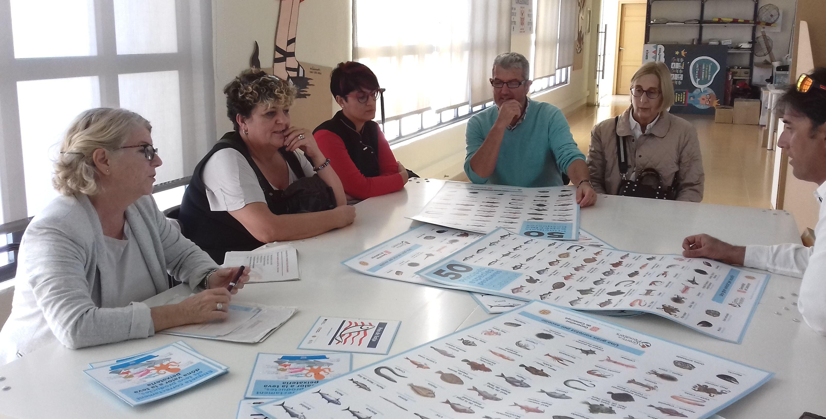 Sessió sobre l'etiquetatge del peix
