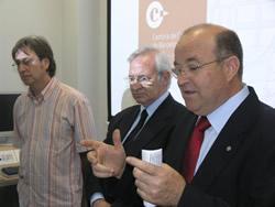 Acte d'inauguració de la remodelada seu de la  Cambra de Comerç de Barcelona al Garraf