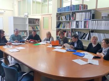 Reunió de la Comissió, a l'IMET