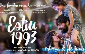 Estiu 1993 és la pel·lícula del Cicle Gaudí per a aquest mes