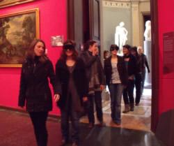 El personal del museu en un moment de la jornada formativa